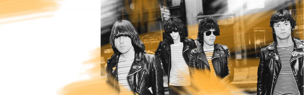 Áo da thật gắn liền với hình ảnh các band nhạc Rock