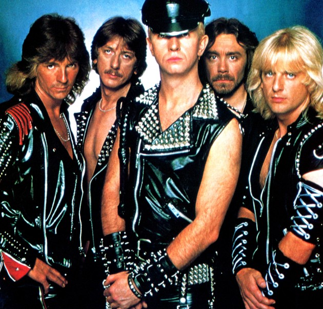 nhóm Judas Priest.