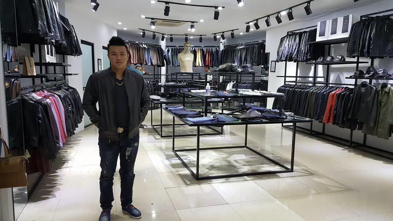 cửa hàng Quang Trung áo da thật , áo da nam
