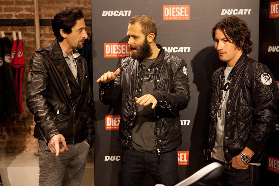 Diesel laether jacket 2 áo da thật , áo da nam