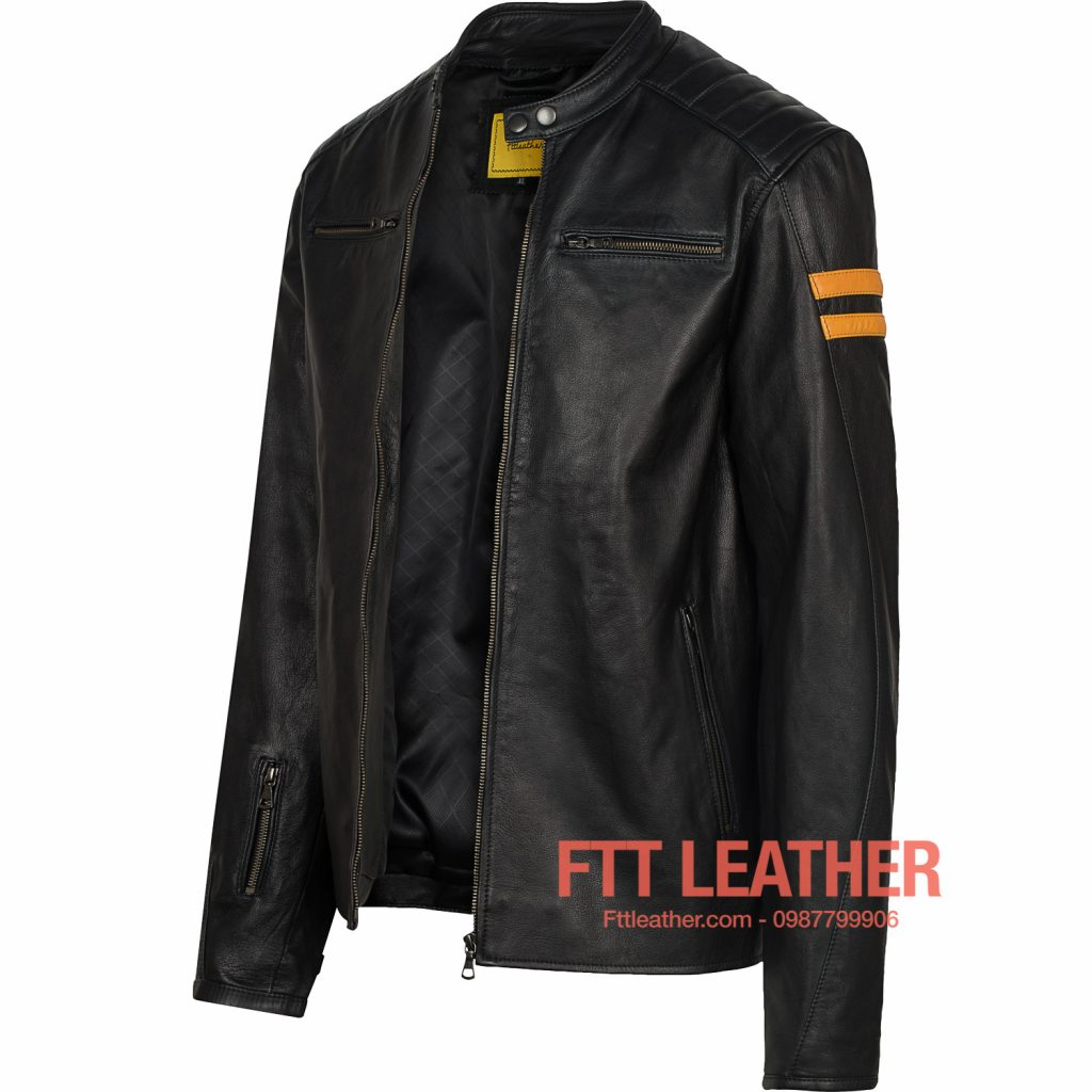 áo da dê motorcycle jacket