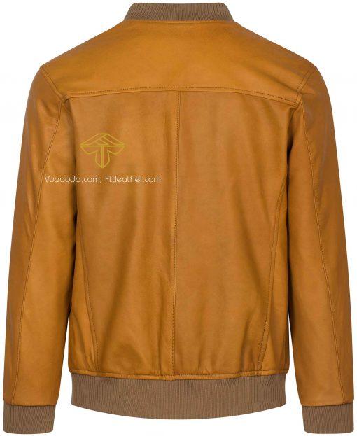 ao bomber gia re 2 1501729307 áo da thật, áo da nam