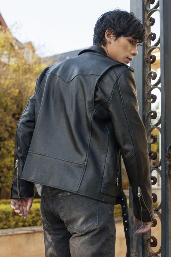 áo da biker jacket 2020